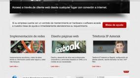 TECNOredes Sitio Web