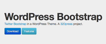 Wordpress Bootstrap