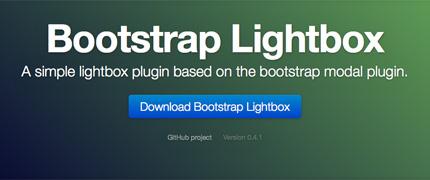 Bootstrap Lightbox