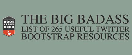 265 recursos bootstrap